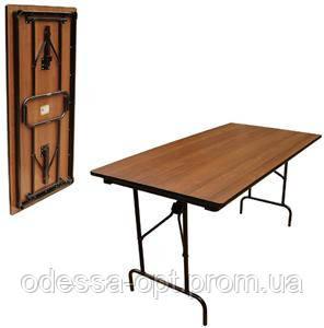 Стол банкетный складной 150х75 см