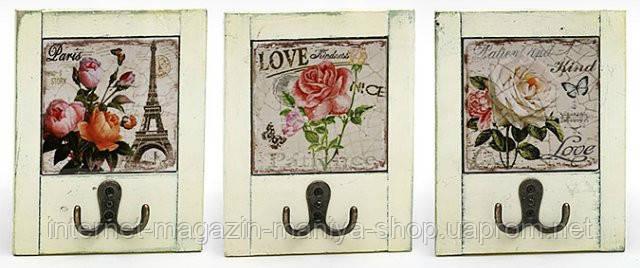 Вешалка с двойным крючком Roses