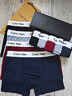 Трусы мужские боксеры Calvin Klein 5 шт набор в подарочной упаковке Боксеры трусы шорты кельвин кляйн