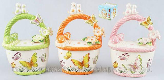 Декоративная корзина для яиц