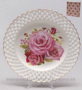 """Блюдо 26,2см круглое """"Розы"""""""