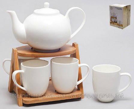 Чайный набор 5пр. (на 4персоны) 240/1100мл.