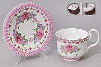Чайный набор: чашка + блюдце