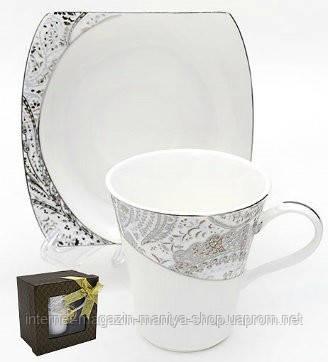 Чашка с блюдцем, 210мл
