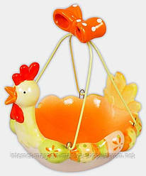 Декоративная корзинка для яиц