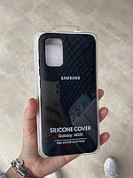 Силиконовый чехол Soft Silicone Case для Samsung A025 Galaxy A02s черный
