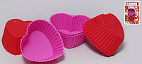 Набор силиконовых форм для выпечки (6шт)