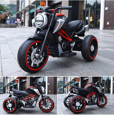 Їв-мобіль T-7236 EVA RED мотоцикл 2*6V4.5AH мотор 2*15W з MP3 102*51*59 /1/