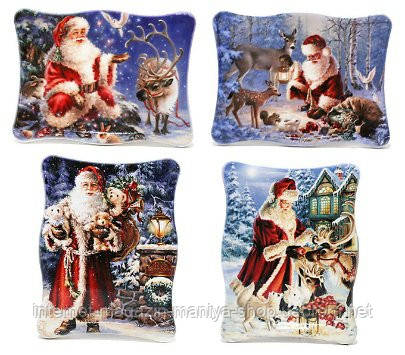 Магнит декоративный Санта