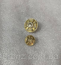 Гудзики ЗСУ 18 мм, латунь
