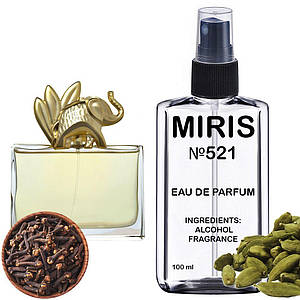 Духи MIRIS №521 (аромат похож на Kenzo Jungle L'Elephant) Женские 100 ml