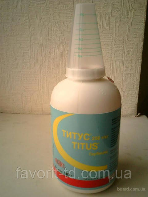 Гербицид Титус 25% в.г., 0,5 кг (римсульфурон 250 г/кг)