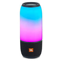 Bluetooth-колонка JBL PULSE 3, lightshow, speakerphone, радио, PowerBank, black