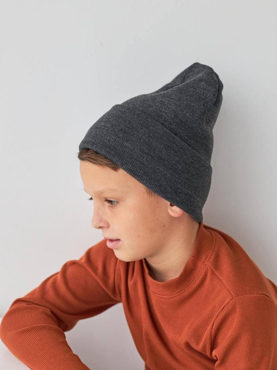 Вязана шапка на зиму для хлопчика оптом - Артикул 2767