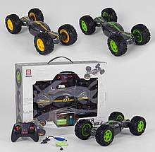 Трюковый вездеход перевертыш с резиновыми колесами, полный привод, работает от аккумулятора CV 8818-80, 2 вида