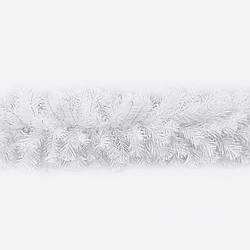Гірлянда хвойна Classic з плівки 16 м біла