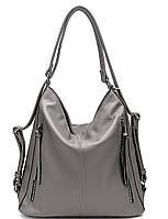 Женская сумка 5801 Gray Женские сумки JOHNNY купить в Украине