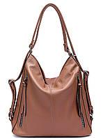 Женская сумка 5801 Brown Женские сумки JOHNNY оптом недорого в Одессе 7 км
