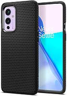 Чохол Spigen для OnePlus 9 - Liquid Air, Matte Black (ACS02684)