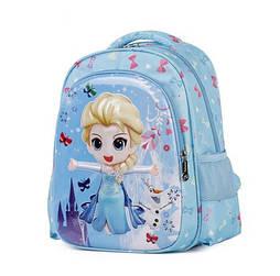 Детские рюкзаки для садика с Эльзой для девочек