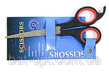 """Ножницы с резиновой ручкой 6,5"""" №SK 0051"""