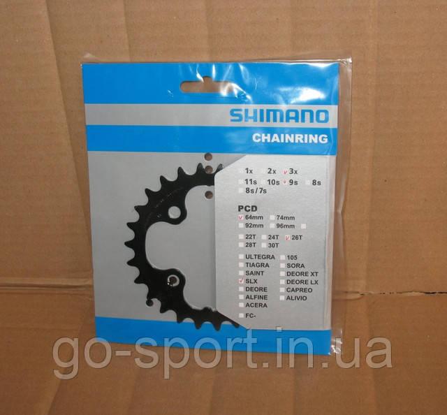 Звезда шатунов Shimano SLX FC-M660 26T