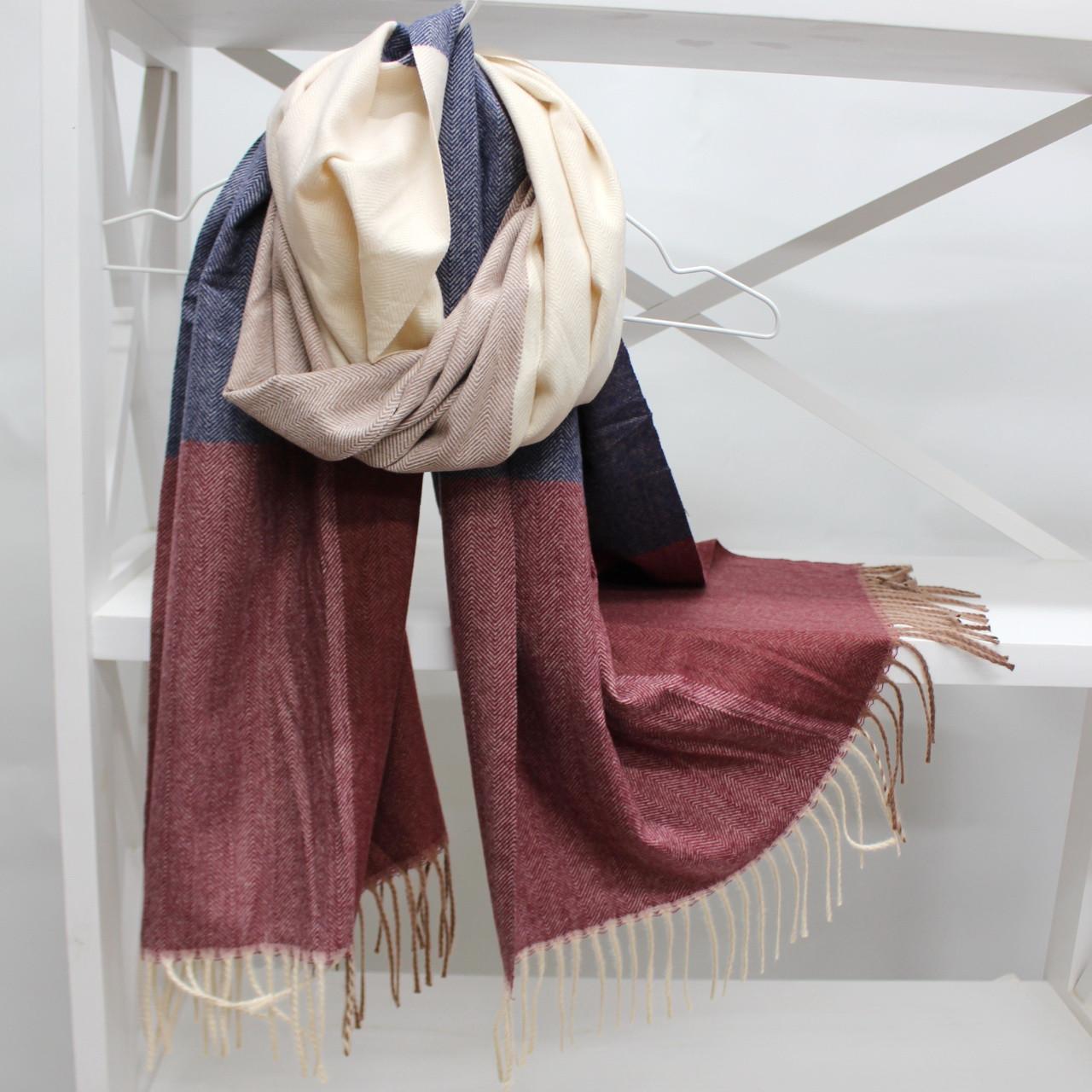 Кашемировый шарф палантин Cashmere 104015