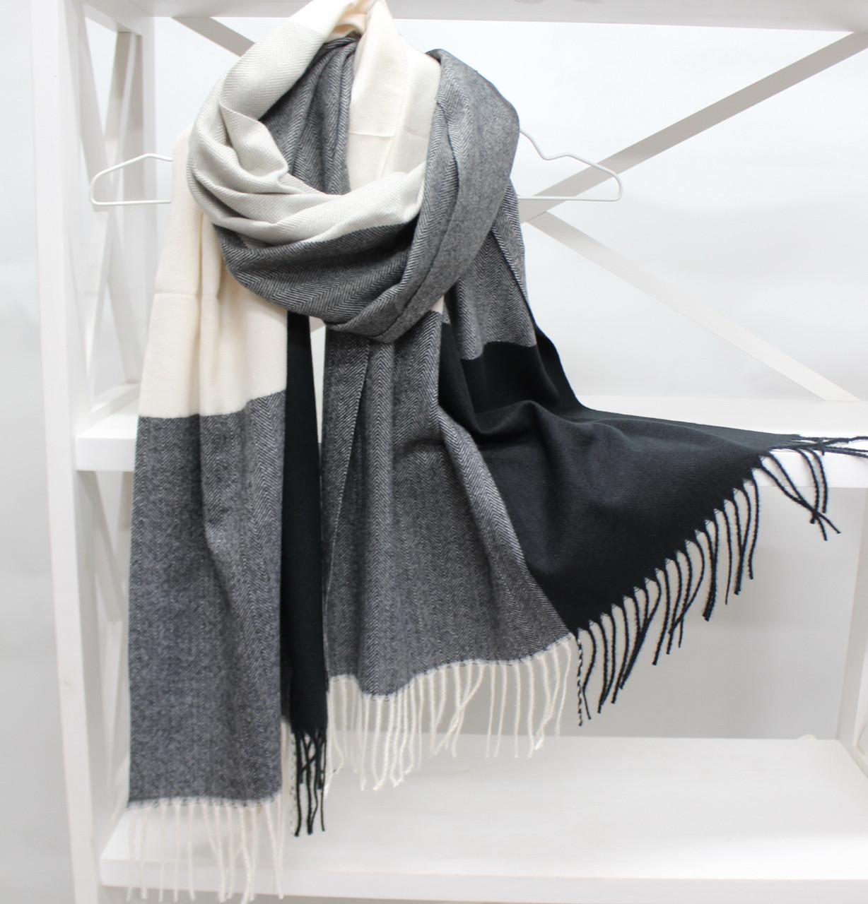 Кашеміровий шарф палантин Cashmere 104018
