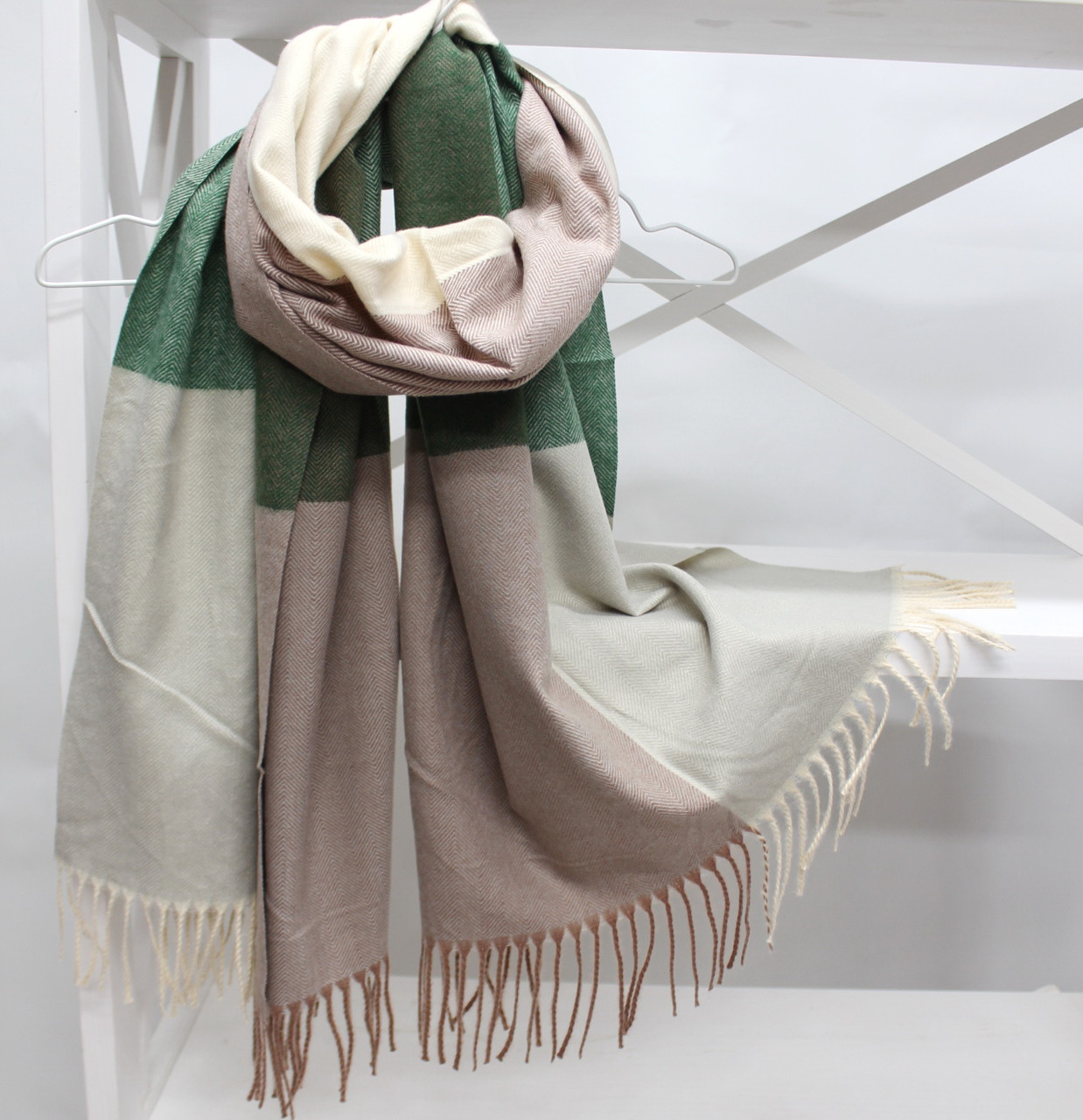 Кашеміровий шарф палантин Cashmere 104019