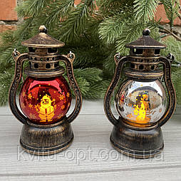 Фонарь свеча LED теплый тон 12.5 см