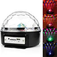 Светомузыка диско шар Magic Ball Music MP3 плеер, фото 1