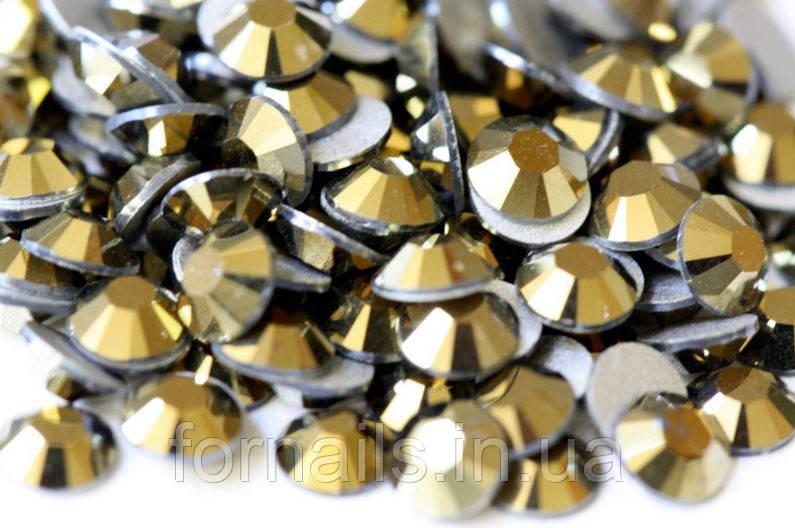 Стразы Gold ss8(2.3-2.4мм) 100 шт