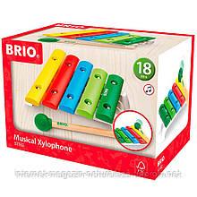 Музичний інструмент Brio Ксилофон