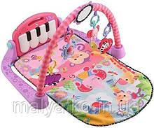 Fisher-Price розвиваючий килимок Kick and Play Piano Gym, рожевий