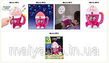 Нічник-проектор для дівчинки рожевий LeapFrog Scouts Goodnight Light