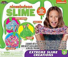 Набір для створення слайма слайм Слиз лизун Cra-Z-Art Nickelodeon Slime Extreme Slime Creations