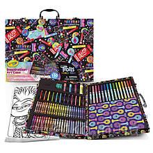 Набір для малювання Крайола Троли Crayola 110 Crayola Inspiration Art Case