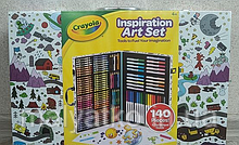 Набір для малювання Крайола Crayola 140 Crayola Inspiration Art Case