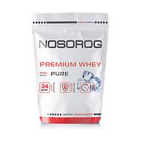 Протеин сывороточный Носорог / Nosorog Nutrition Премиум Whey 1 кг без вкуса