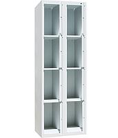 Шкаф ячеечный ШО-400/2-8 (ВхШхГ - 1800х800х500)