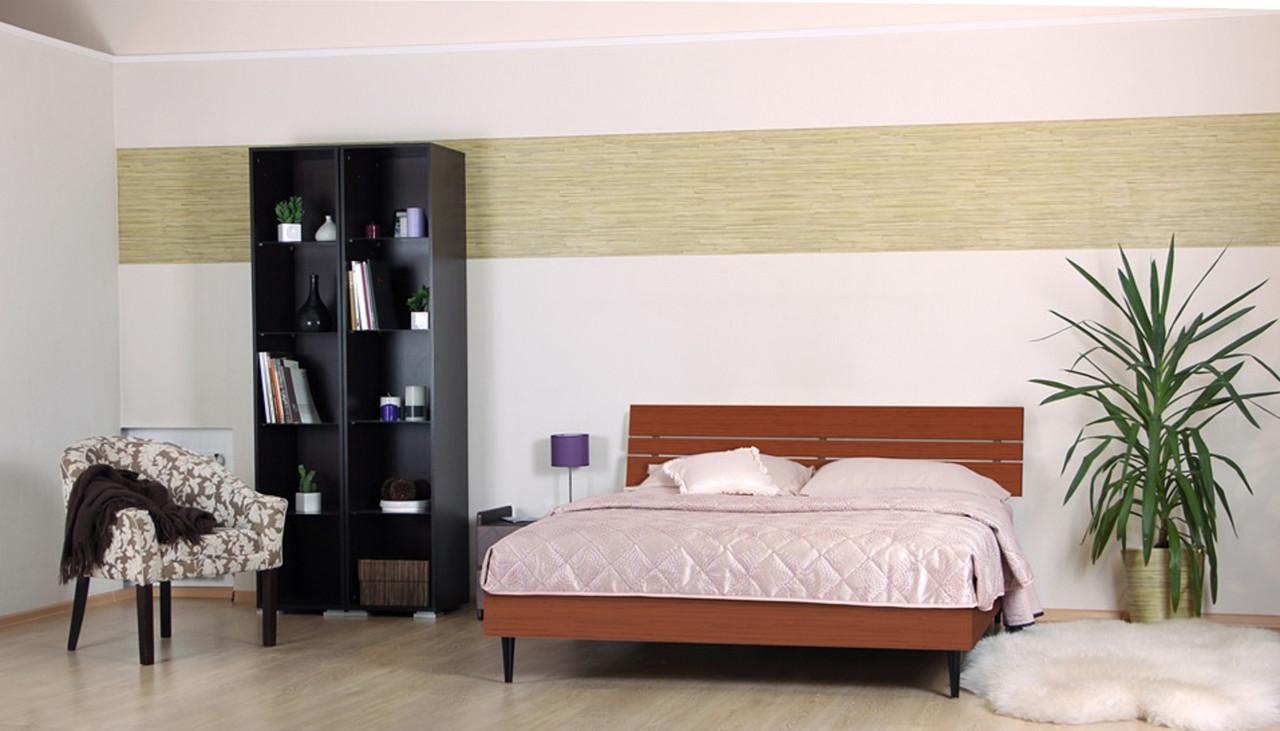 Кровать (ДСП) Прагматик яблоня (Comfoson ТМ)