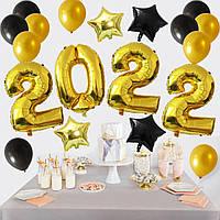 Набор шаров на Новый Год 03