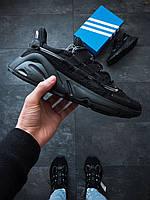 Мужские кроссовки  Adidas Lexicon Черные