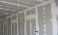 Монтаж гипсокартона (потолок / стена)