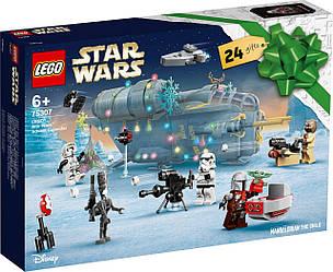 Lego Star Wars Новогодний календарь Лего Звёздные Войны 75307
