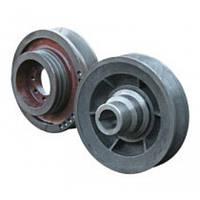 Шкив ходовой части со ступицей (цельнолитой)   54-10253-01