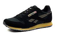 Кроссовки мужские Reebok Classic Jogger, нубук/текстиль, черные, фото 1