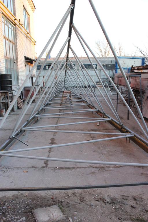 Изготовление вышки ветрогенератора 3