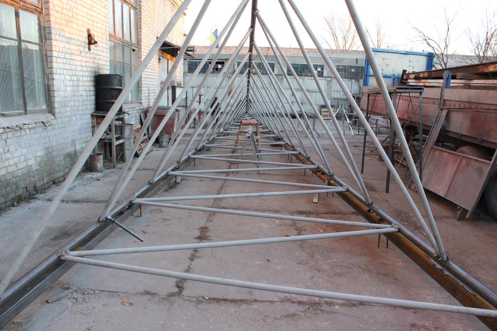 Изготовление вышки ветрогенератора 5