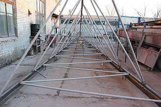 Изготовление вышки ветрогенератора 6